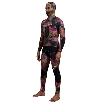 Seaskin Spearfishing Wetsuit Top with High Waist Pants