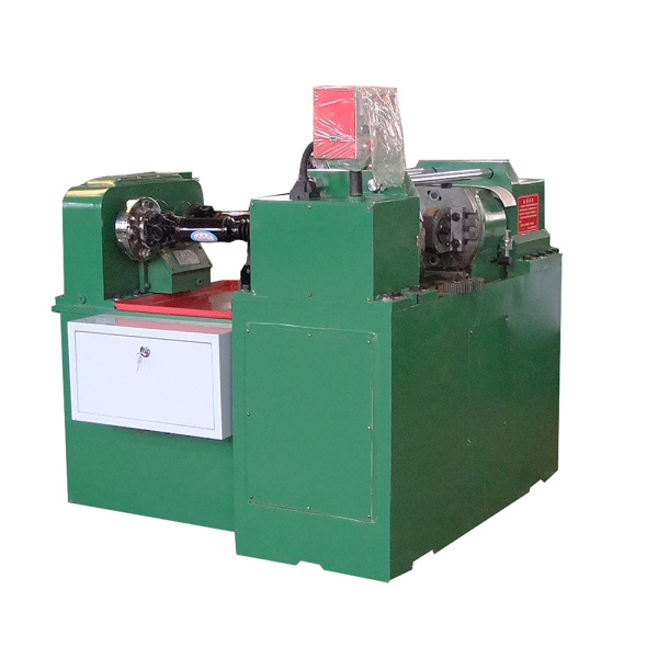 Automatic hydraulic thread rolling machine