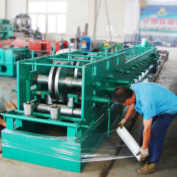 Used z purlin roll forming machine aluminium press machine