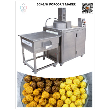 popcorn snacks machine from best factory