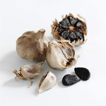 Sweet and soft black garlic