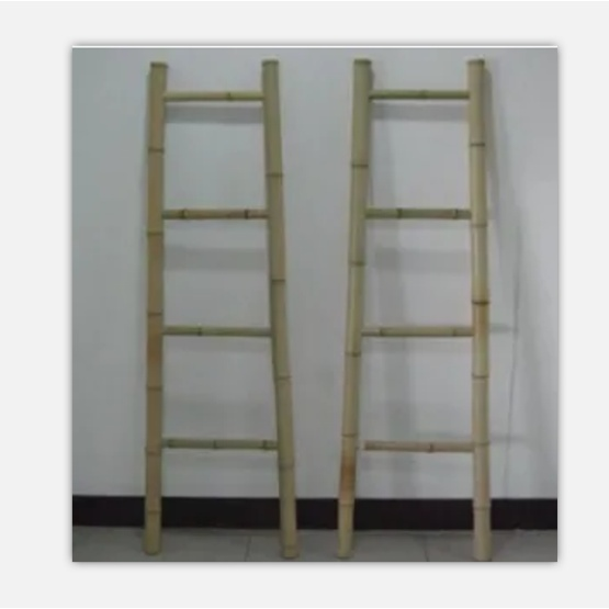 Fixed Straight  Bamboo Ladder