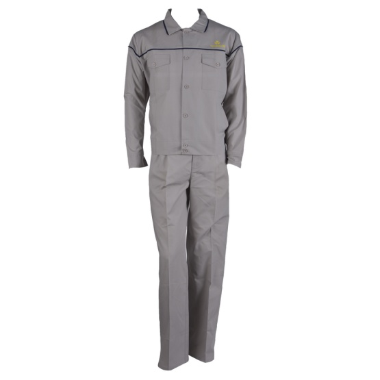 Long Sleeve Poly-Cotton Twill Work Suit