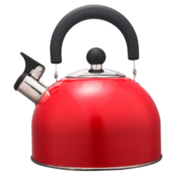2.0L Stainless Steel color painting Teakettle red color