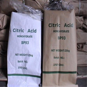 Food Grade Citric Acid Anhydrous Monohydrate Ttca