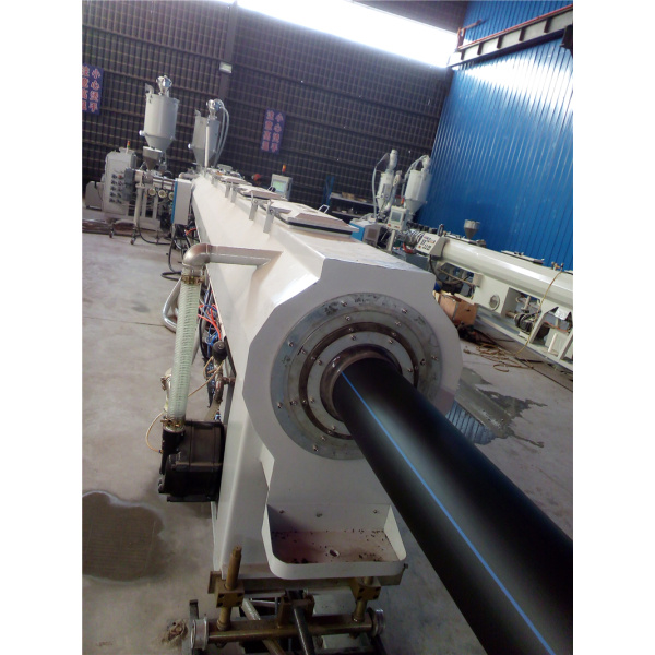 50-250MM PE pipe manufacturing machine for sewer systems