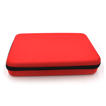 Red storage empty eva custom tool case
