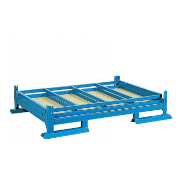 Steel wire pallet racks
