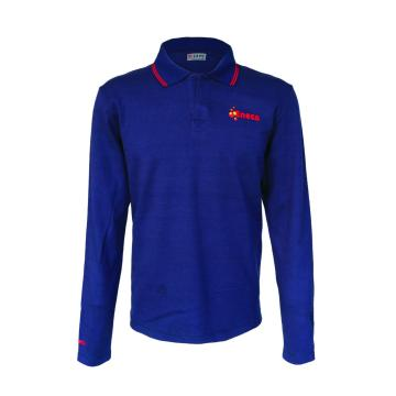 Cotton Fire Retardant Knitted Polo Shirt