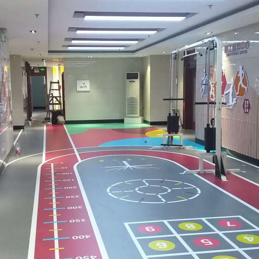 multi-purpose indoor PVC Sports flooring