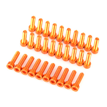 Drone/RC/FPV Aluminum Socket Screw Cover Caps For Faceplate
