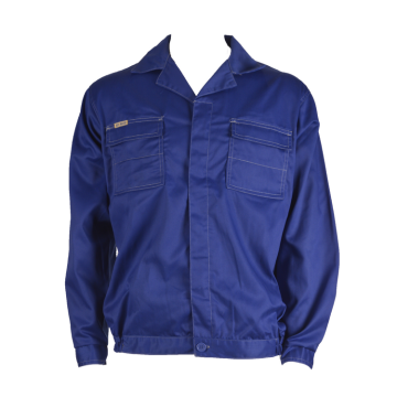 Basic work jacket with chest pocket flaps