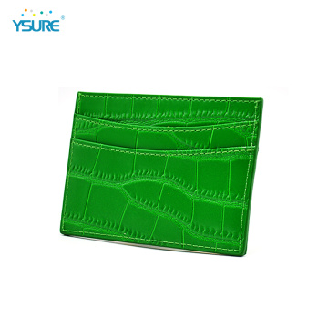 Luxury Custom Logo Slim Business Credit Card Holders