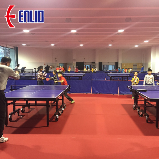 ITTF Approved Table Tennis Sports flooring Indoor