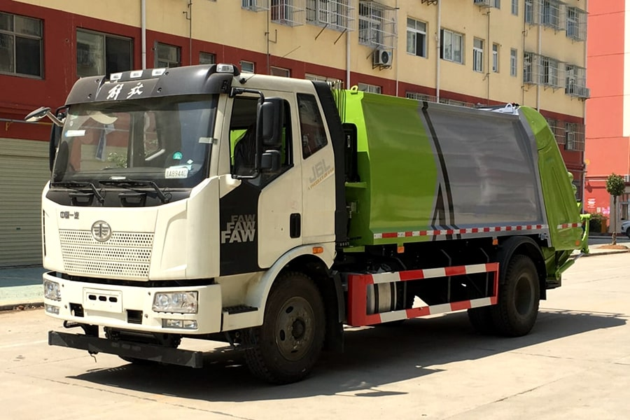 Waste Industries Truck
