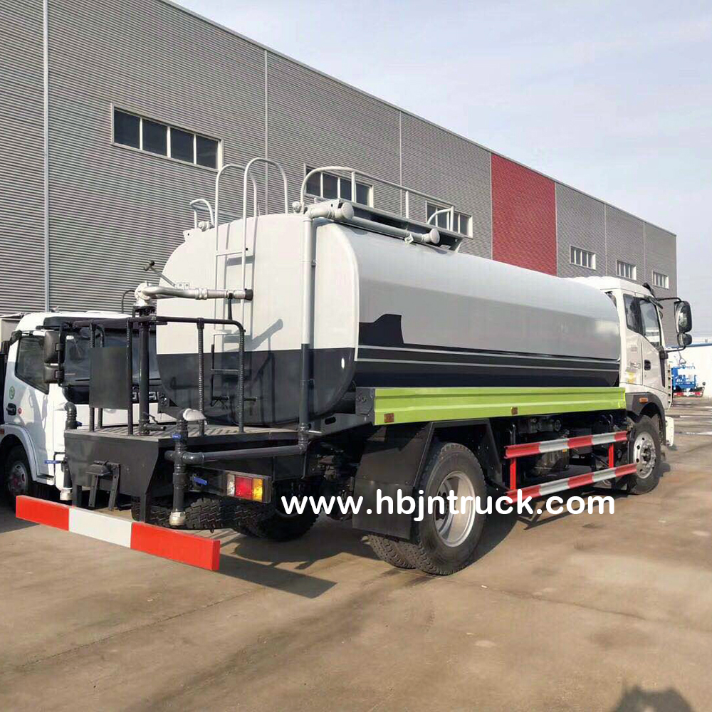 15000 Liters Water Tanker Truck