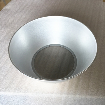Aluminum high bay light spining lampshade
