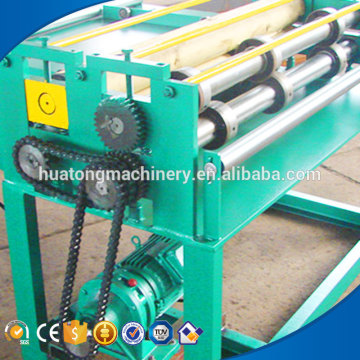 Color steel sheet coil slitting machine