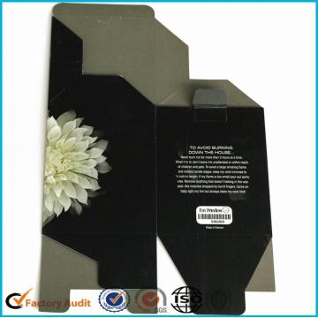 Sliding Drawer Paper Candle Packing Box