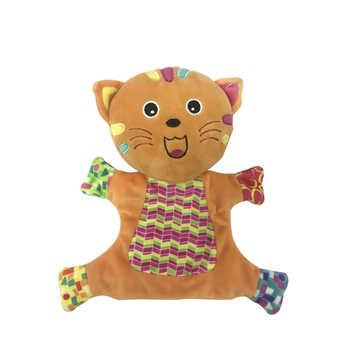 Hand Puppet Cat Orange
