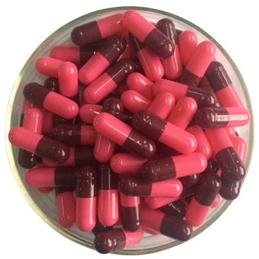 Customized Color Empty Hard Gelatin Capsule