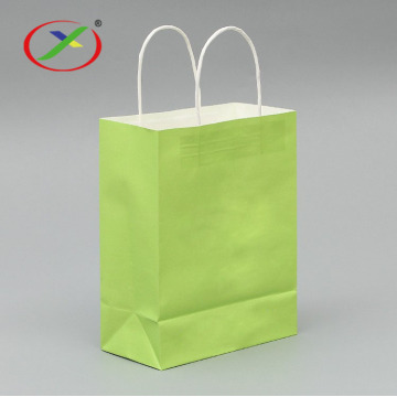 80g luxury shopping bags kraft paper bag