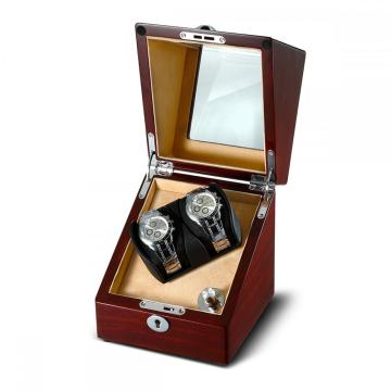 Wood Veneer Sheet Single Rotor Watch Winder