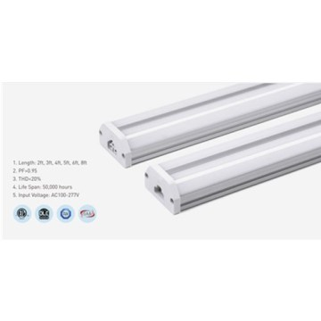 White 15W 3000K Aluminum 4ft LED Tube Light