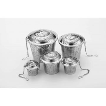 5 SIZE Etching Cup Shaped Tea Infuser