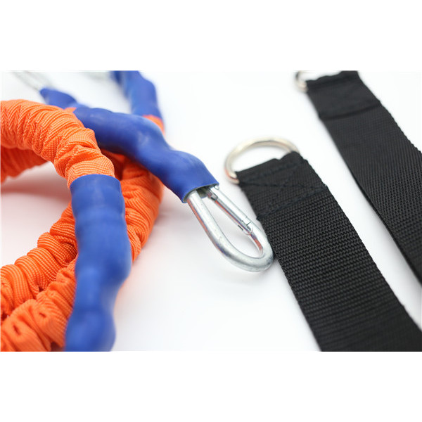 4 Feet Long Nylon Sleeve Covered Resistance Bands