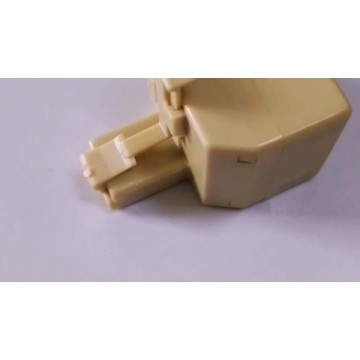 RJ45 8P8C network adapter splitter 3-way 8P8C
