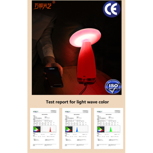 Smart led eye-protection desk lamp
