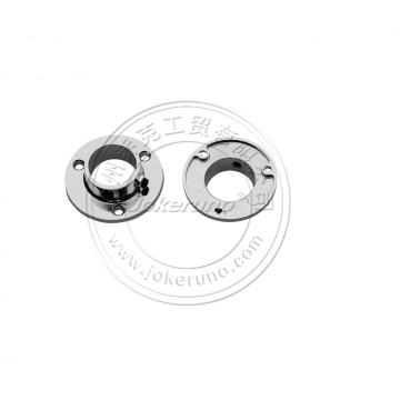 Aluminium flange hollow end