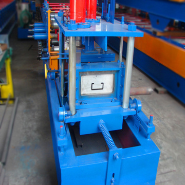 Functional z purlin roll forming aluminium sheet forming machine