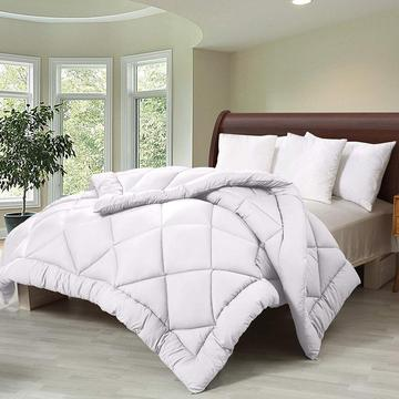 Goose Down Quilted Duvet Insert Alternative Comforter