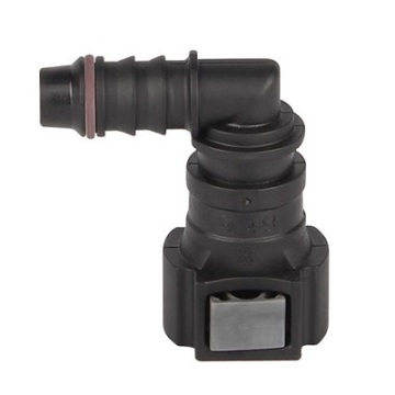 Fuel Quick Connector 9.49 (3/8) - ID8 - 90° SAE