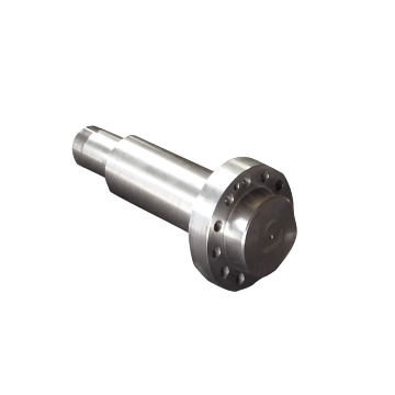 Quenching and Tempering Shaft Forged Flange Shaft