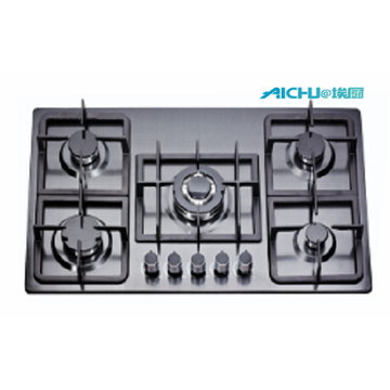 Built-in 6 Burners Kitchen Gas Hob Top