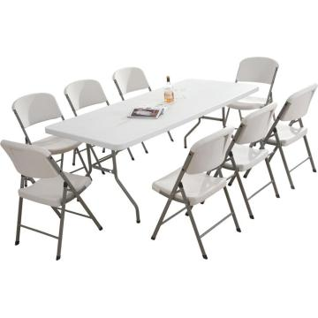 6FT Below-Molding Rectangle Folding Table