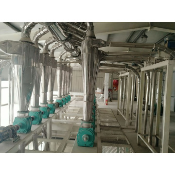 300tons of Wheat Flour Mill Machine Building Structure