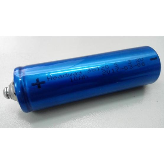 LiFePO4 Rechargeable Battery Cell 38120S 10Ah 3.2V