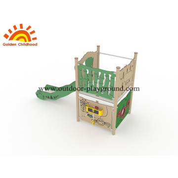 Outdoor Playground HPL Freestanding Slide