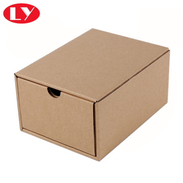 Brown kraft drawer box for belte packaging box