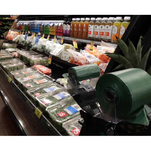 Poly Roll Bag for Supermarket