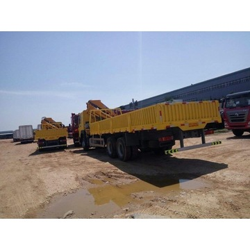 12 Tons Truck Mounted Telescopic Boom Crane