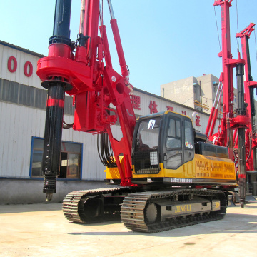 30M Depth Tracked Kelly Bar Rotary Drilling Machine