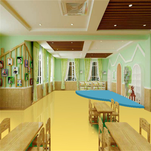Safe Eco Friendly Kids PVC Flooring