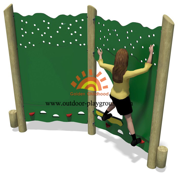 panel climbing walls playground structure for kids