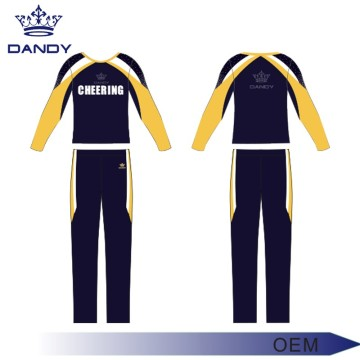 long top with pant cheer costume for boys