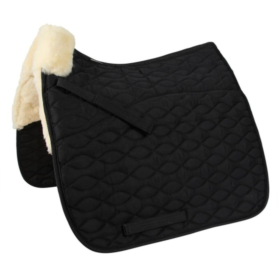 Equestrian products horse sheepskin saddle pad